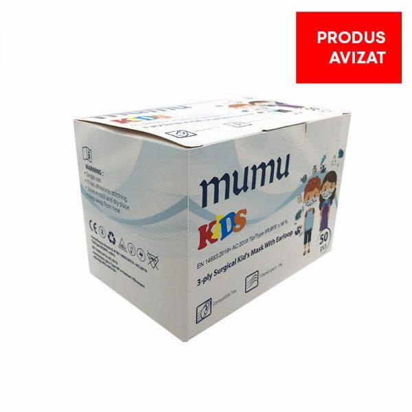 masti medicale mumu pentru copii 50pcs